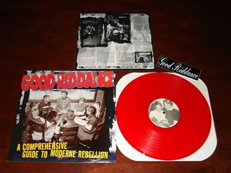 Riddance A Comprehensive Guide To Moderne Rebellion 1996 Cd riddance a comprehensive guide to modern rebellion colored vinyl