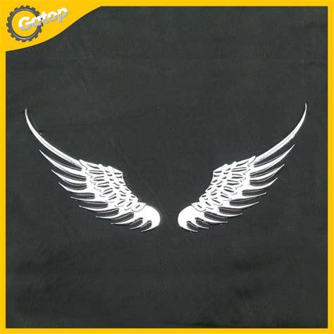 Badge Tsukiuta Pair 3 Pcs 1 pair 2 pcs car styling customized hawk wing