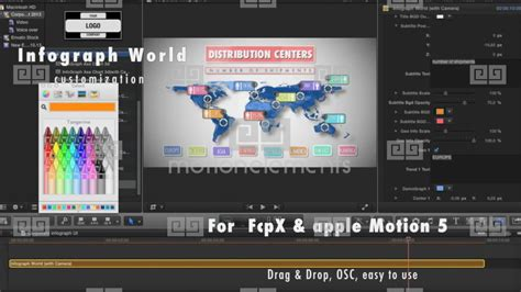 Corporate Infographic For Final Cut Pro X Apple Motion Templates 2305406 Cut Pro Motion Graphics Templates