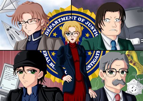 Spesial Detektif Conan Vs Of The Black Organization 02 detective conan fbi by celestialrayna on deviantart
