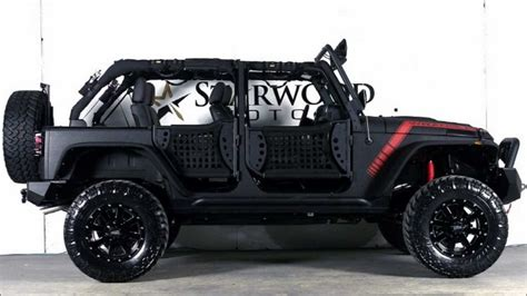 starwood motors 2013 jeep wrangler unlimited el diablo by starwood motors