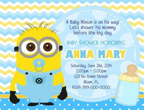 Minions Baby Shower by 25 Best Ideas About Minion Baby Shower On