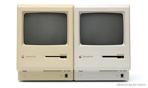 Original Moc Charlez Grey macintosh plus 1986 oldcomputr