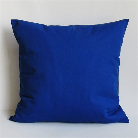 royal blue couch pillows cobalt royal blue pillow cover decorative throw accent sofa