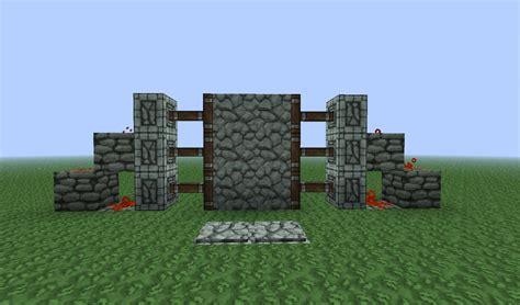 Piston Door by Simple 2x3 Piston Door Minecraft Project