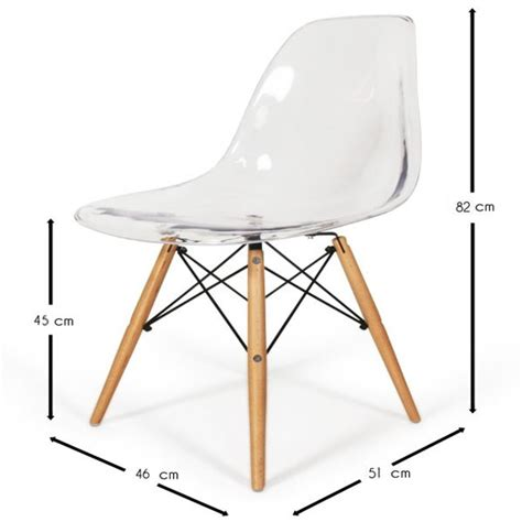 chaise dsw charles eames chaise eames dsw style transparent meubles design