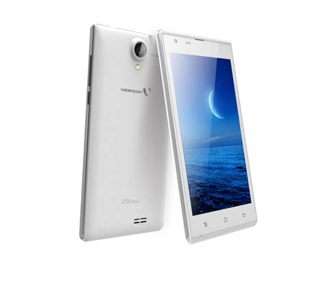 nava mobili videocon mobile unveils infinium z50 android