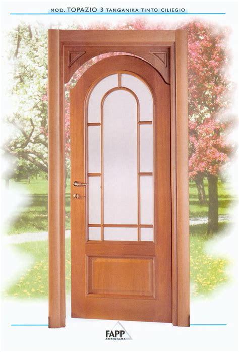 porte ad arco per interni porta a battente impiallacciata