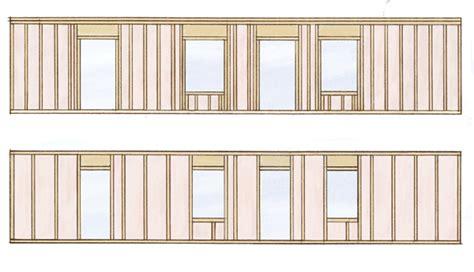 Economical To Build House Plans by Structure Exterior Walls Greenbuildingadvisor Com