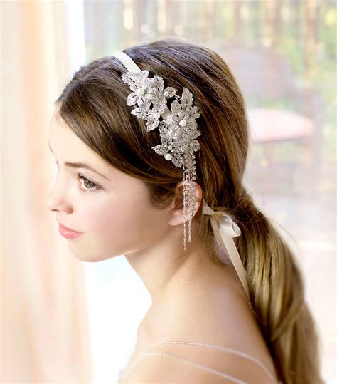 1920 Wedding Hairstyles 1920 bridal hair styles 1920s gatsby inspired wedding