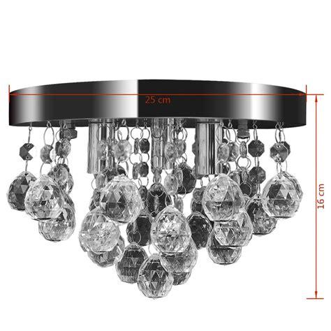 chrom kronleuchter kronleuchter deckenleuchte kristall design l 252 ster chrom