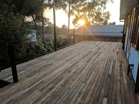 hardwood decking recycled timber decking northern