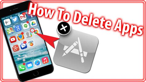how to uninstall an app on iphone how to delete apps iphone 6 6 plus ipod touch beginner tips