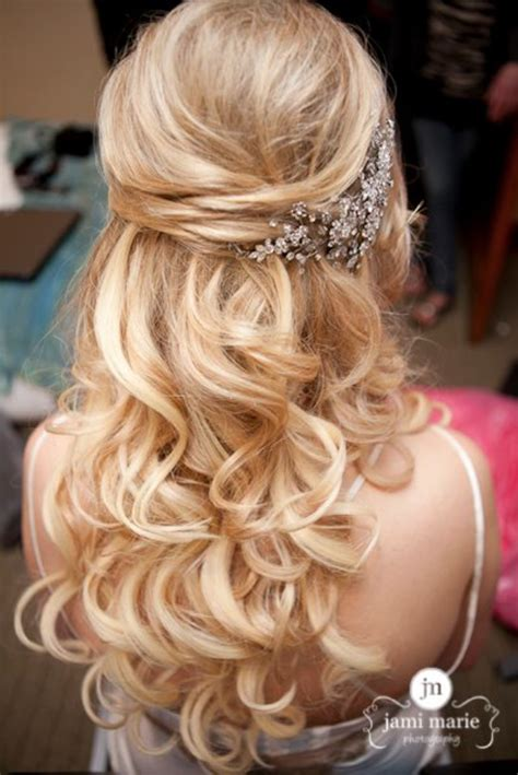 15 fabulous half up half wedding hairstyles