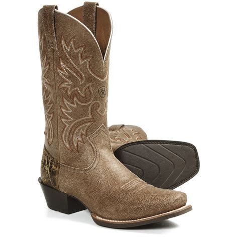 boot for object and identity cowboy boots advertising and