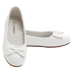 buy little girls size 2 white mary jane flower accent flat