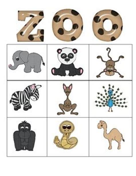 printable jungle animal bingo zoo bingo for pre k environmental education pinterest