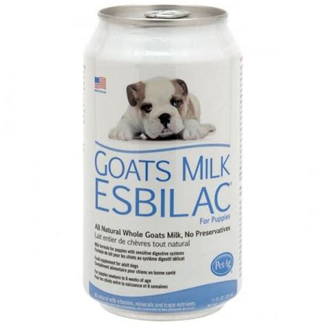 milk replacer for puppies pet ag goats milk esbilac liquid milk replacer for dogs 12 5 oz