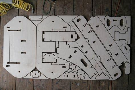 diy plyfly wooden  kart kit