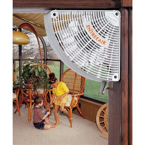 Door Frame Fan by Entreeair Door Frame Fan 93262 Air Conditioners Fans At Sportsman S Guide