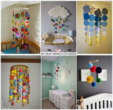 Handmade Baby Mobile Ideas - 6 baby crib mobiles diy craft projects
