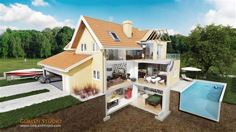 section houses cross section of a house home design