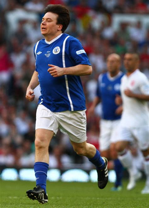 mike myers football mike myers in celebrities play in soccer aid 2012 zimbio