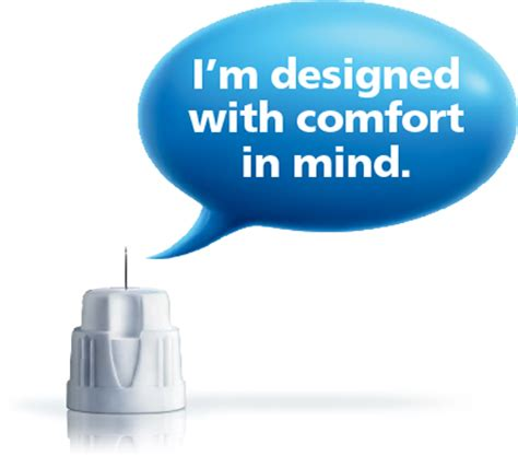 comfort in the novo nordisk needle family and diabetes tools