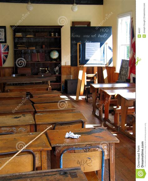 layout of a victorian classroom school classroom desks royalty free stock photography