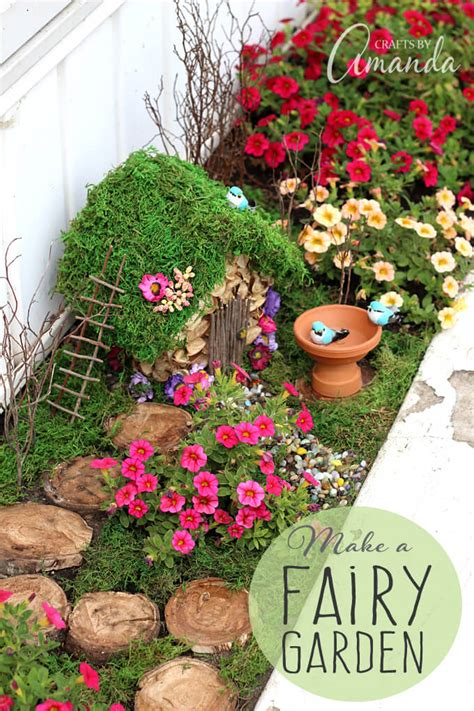 diy fairy garden accessories ideas  designs