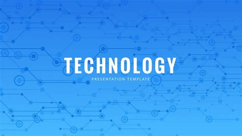 Presentation Templates For Technology | technology powerpoint template free powerpoint presentation