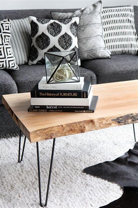 wood slab table diy my diy wood slab coffee table salones