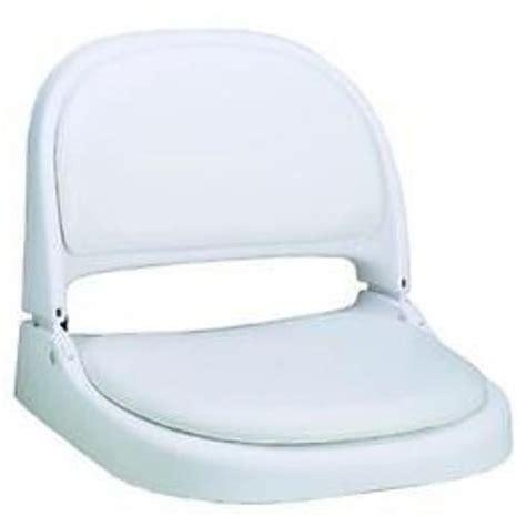 white boat seats attwood 70121014 proform fold boat seat white frame