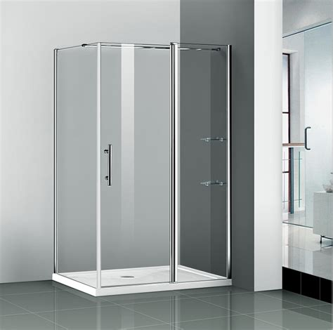 Shower Door Pivot Aica 1400x800mm Shower Enclosure Pivot Door Frameless Screen Side Panel