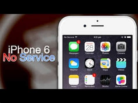 fix  servicein apple iphoness youtube