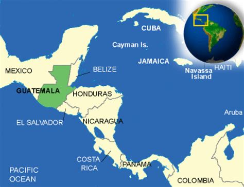 where is guatemala on the map guatemala facts culture recipes language government