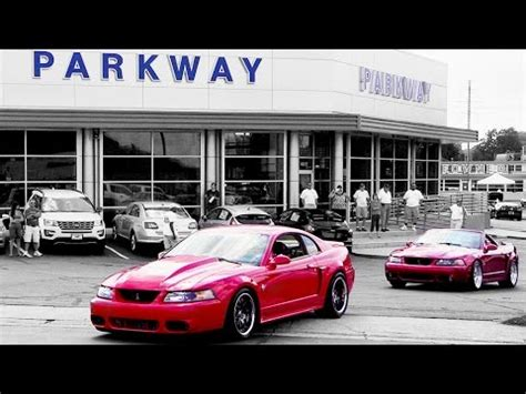 svt cobra mustang club mustangs leaving svt cobra club parkway ford show 2015