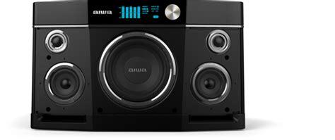 Speaker Bluetooth Aiwa press kit aiwa exos 9 the only portable bluetooth
