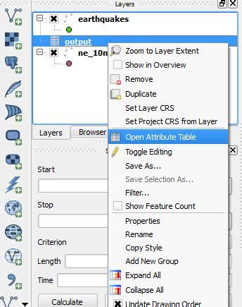qgis analysis tutorial natural neighbour analysis and querying using qgis cuosg