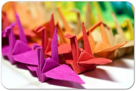 Paper Folding For Children - national craft month origami paper folding for