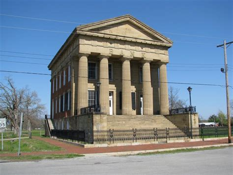 greek revival architecture in illinois old shawneetown bank old shawneetown illinois photos