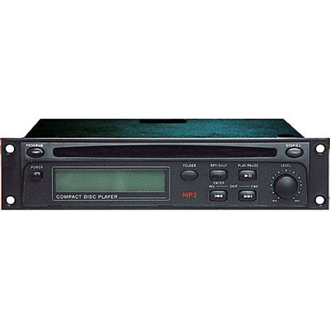 Rack Mount Mp3 Player by Rolls Hr72 Rack Mountable Cd Mp3 Player Hr72 B H Photo