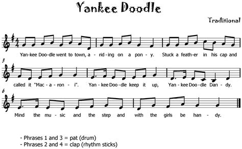 doodle yankee song steady beat songs exclusive