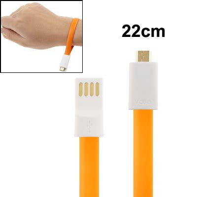 Taff Noodle Magnet Charging Sync Data Micro Usb Green taffware color noodle bracelet style magnet charging