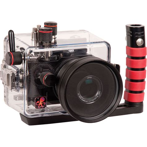 underwater camera housing ikelite underwater housing for panasonic lumix lx100 released camera news at cameraegg