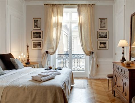 parisian bedroom decor 2 bedroom paris rental near op 233 ra
