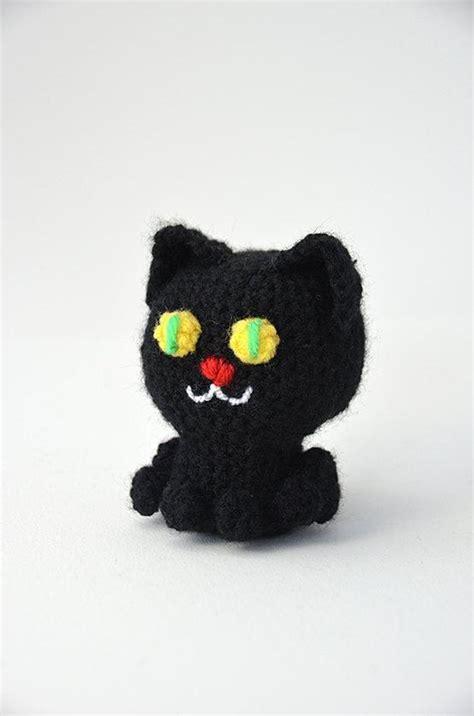 pattern black cat black cat amigurumi halloween crochet pattern no 53