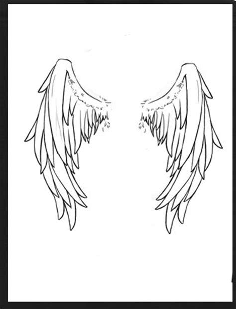 100 cool angel wing tattoo design angel wings