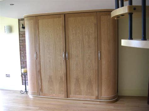 Curved Wardrobes by Fitted Bespoke Furniture Display Cabinets Secret Drawers