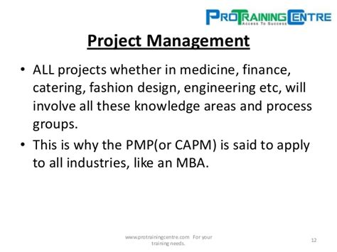 Mba In Fashion Management Scope by Pmp Nigeria Introduction To Projects And
